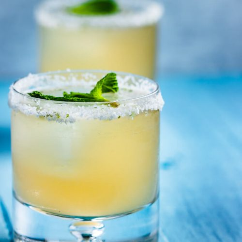 "Featured image for Grapefruit Mint Margarita aka ""Paloma"" With Mint recipe"