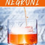 The best negroni Pinterest image.