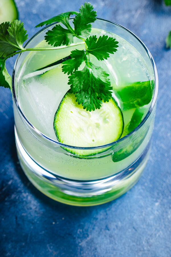 Jalapeno margarita with cucumber? If you haven't been adding this spicy and delicious twist on the classic margarita, you're missing out. #margarita #spicy #cucumber #jalapeno #cocktail #drink #summer #cilantro #beautifulcocktails #mixology