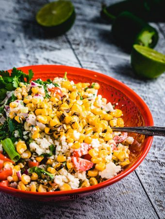 Mexican Street Corn Salad Recipe – Tangy, Spicy Perfection