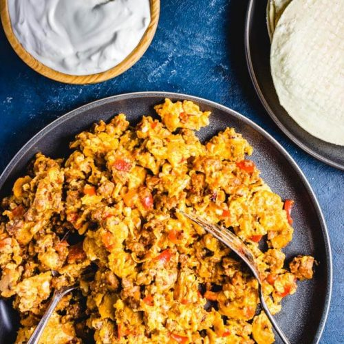 Chorizo and eggs featured image