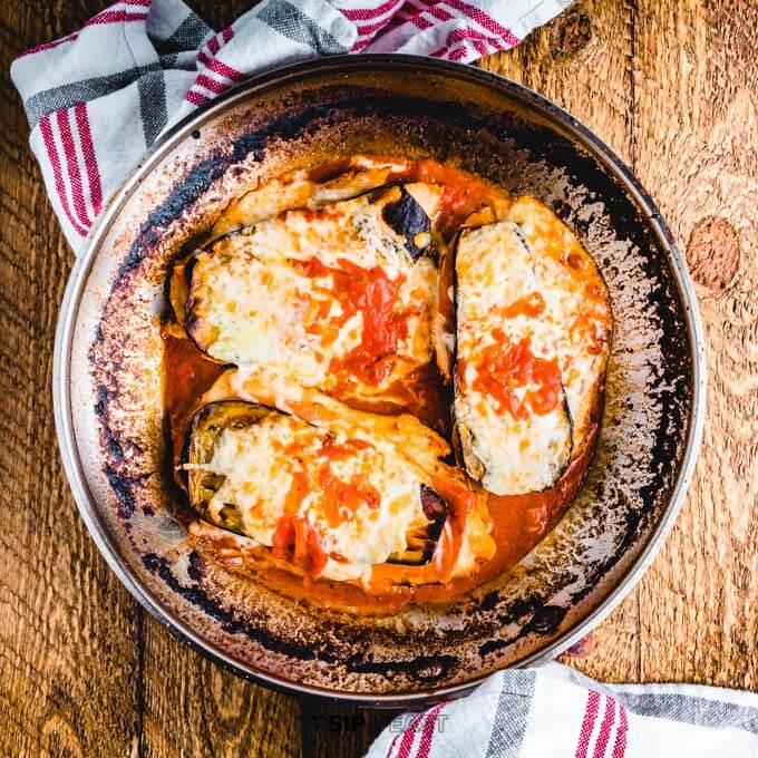 Chicken Sorrentino Recipe With Eggplant And Prosciutto Sip And Feast