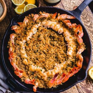 Shrimp oreganata recipe featured image.