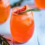 Aperol spritz cocktail featured image.