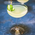 Limonata basil cocktail featured image.