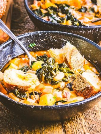 Ribollita soup featured image.