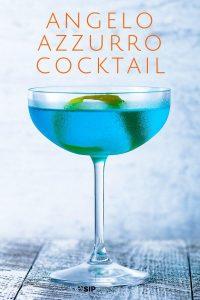 Angelo Azzurro cocktail Pinterest image.