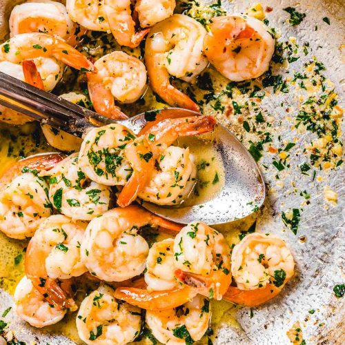Shrimp scampi featured image.