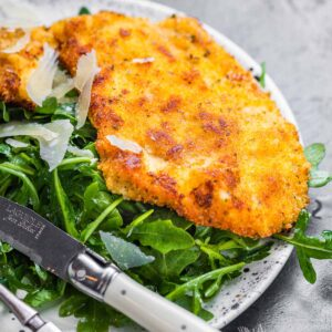 Italian chicken cutlets featured image.