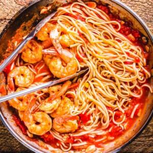 Shrimp fra Diavolo feature image.