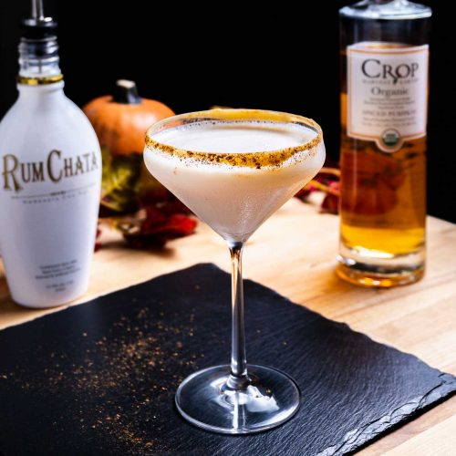 Pumpkin spice martini featured image.