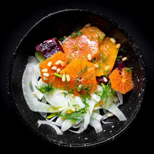 Fennel orange salad featured image.