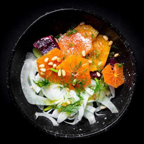 Fennel orange salad featured image.