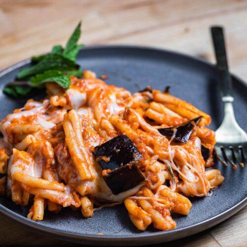 Pasta alla Siciliana featured image.