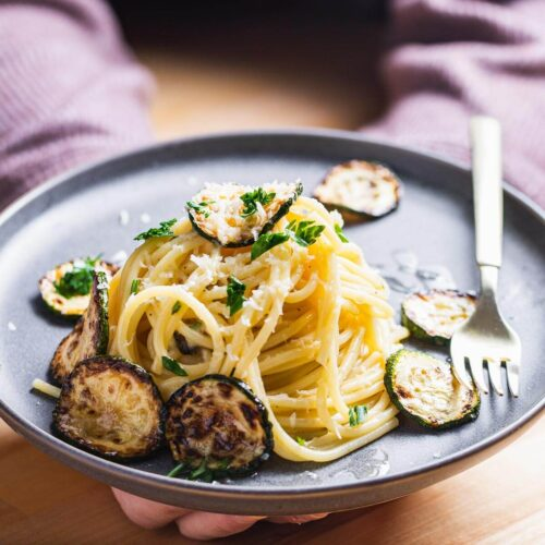 Spaghetti alla Nerano featured image.