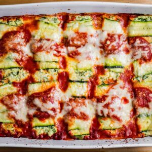 Zucchini rollatini featured image.