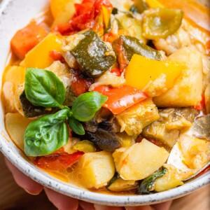 Ciambotta recipe featured image.