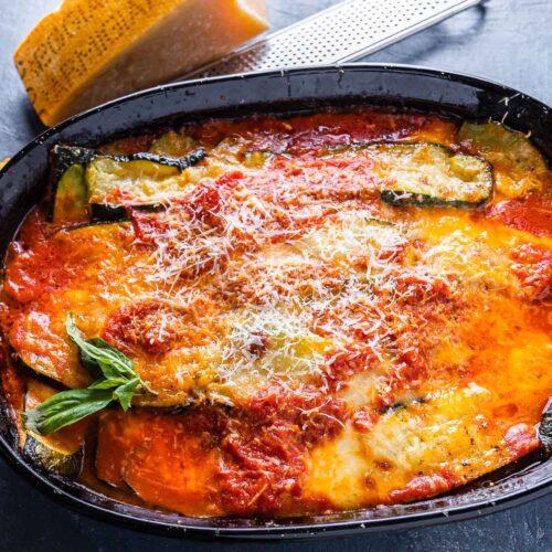 Zucchini alla Parmigiana featured image.