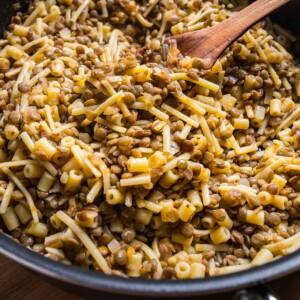 Pasta e lenticchie featured image.
