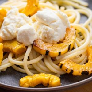 Delicata squash pasta featured image.