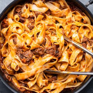 Short rib pappardelle featured image.
